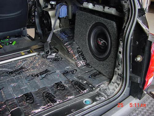 Custom Sub Enclosure Not The Hidden One Ford Explorer And Ford